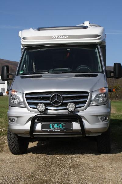 Frontbügel Mercedes, schwarz
