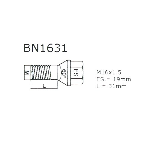 SICURIT Radschloss RS16 x 1,5 x 31 Maxi / Heavy