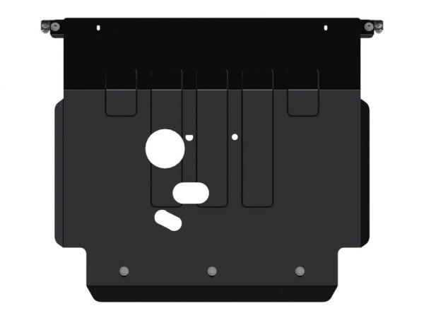 Unterfahrschutz Stahl schwarz