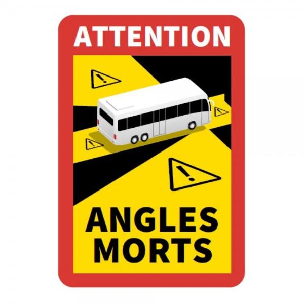 """Aufkleber """"Angles Morts"""" für Busse und Wohnmobile"""