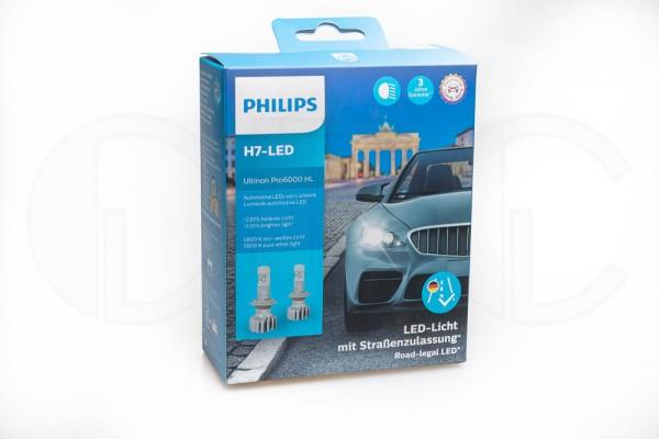 Philips Ultinon Pro6000 H7 LED